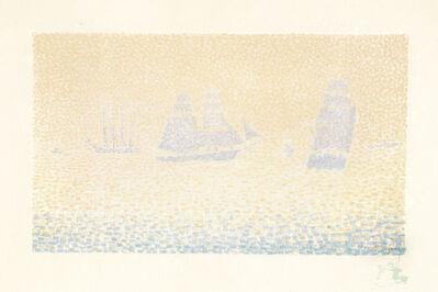 Paul Signac, 'Les Bateaux', 1895