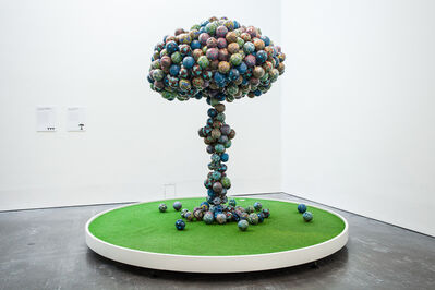 Yinka Shonibare CBE, 'Football Cloud', 2015