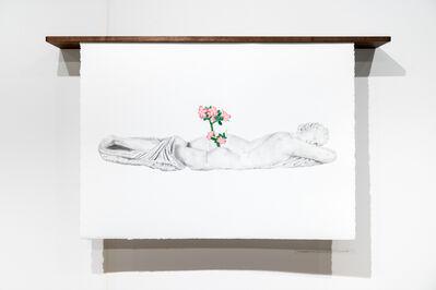 Louis Bouvier, 'Les noces du temps et de la lumière', 2017