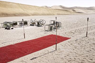 Margaret Courtney-Clarke, ''Amphitheatre', Namib Sand Sea, Dorob National Park, 26 April', 2015