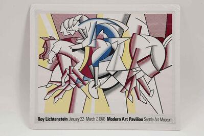 Roy Lichtenstein, 'Red Horseman', 1977