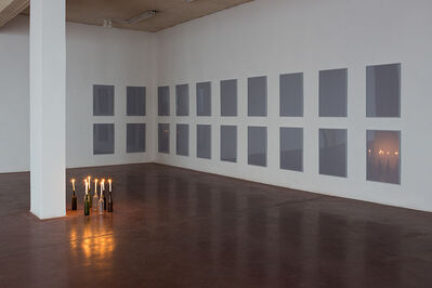 Jonathan Monk, 'All the possible ways of lighting eight candles', 2012