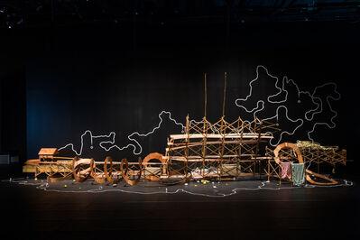 Fang Wei-wen, 'Republic of Rubber Tape', 2016