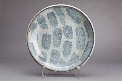Young Jae Lee, 'Plate, calcite, and nepheline syenite glaze'