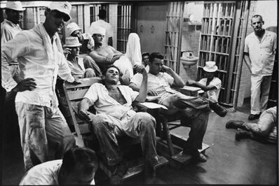 Danny Lyon, 'Six-Wing Cell Block', 1968/2011