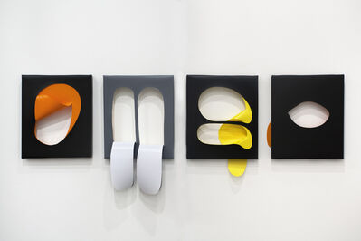 Kirsten Mosel, 'Doblecut', 2015