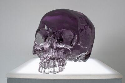 Sam Tufnell, 'Sam Tuffnell, Violet Half Skull', 2018