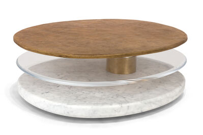 Mattia Bonetti, 'Eclipse oval table', 2018