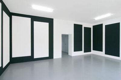 Jan van der Ploeg, 'Wall PaintingNo.359 - Black Flag', 2013