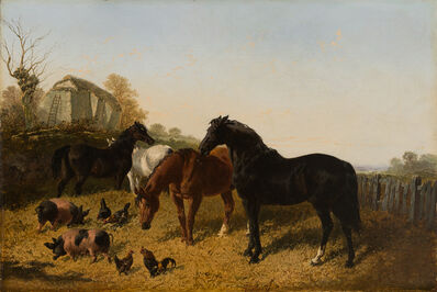 John Frederick Herring Jr., 'Farmyard Scene', 19th Century