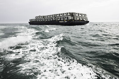 "Stephen Mallon, '""Weeks 297"" Sea Train, Subway Reef Photograph by Stephen Mallon ', 2008"