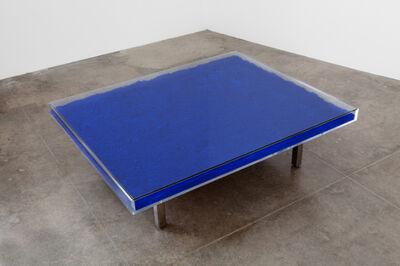 Yves Klein, 'Table Bleu', 2011