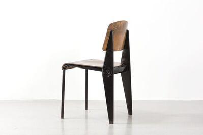 Jean Prouvé, 'Cafétéria no. 300 demountable chair, variation Tropique', 1951