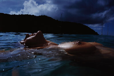 Nan Goldin, 'Valerie Floating in the Sea, Mayreaux', 2001