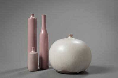 """Jacques & Dani Ruelland, '""""Vase Boule"""" &  """"Vases Bouteille""""', ca. 1960"""