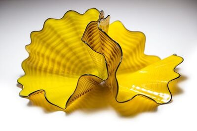 Dale Chihuly, 'Radiant Pair, Rare, SOLD OUT Ed, Signed Glass Sculpture W/Display Case', 2000