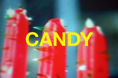 Chuck Ramirez, 'Words: Candy', 2004