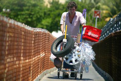 Pepe López, 'Supermarket cart series video', 2007
