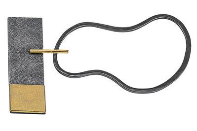 Janis Kerman, 'Gold and Silver Pin', ca. 2018