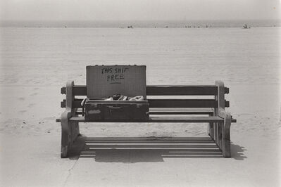 Ed Sievers, 'Untitled (This shit free)', 1972