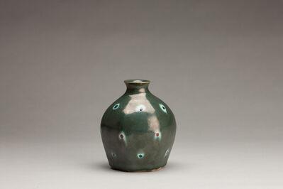 Tomoo Hamada, 'Vase, blue glaze'