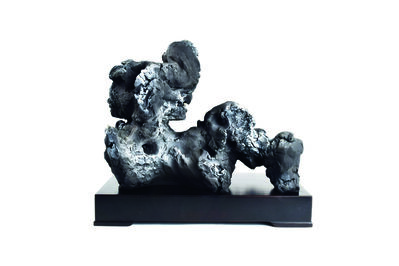 Zhao Meng 趙夢, 'Alphabet Rocks, M 字母石,M', 2018