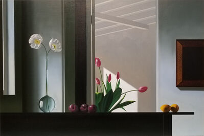Bruce Cohen, 'Interior with Sunlit Tulips', 2017-2018