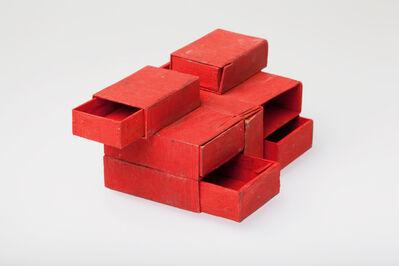 Lygia Clark, 'Estrutura de Caixas de Fósforos Vermelho 7 caixas', 1964