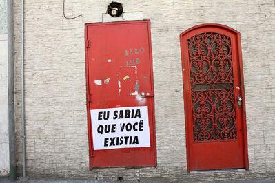 Felipe Morozini, 'Eu Sabia que Você Existia II', 2010