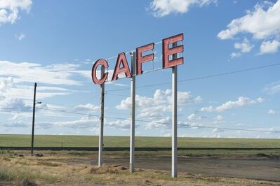 Paul Edmondson, 'Cafe', 2018