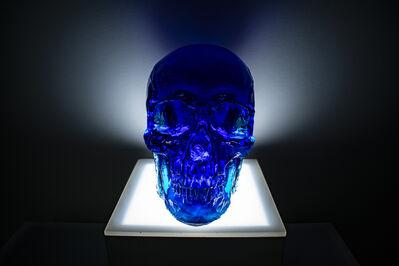 Sam Tufnell, 'Midnight Blue Skull', 2018