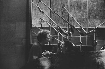 Linda McCartney, 'Simon and Garfunkel, CBS Studio, New York', 1966