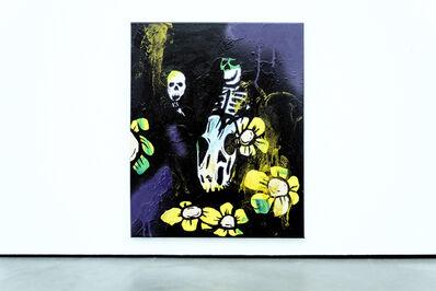Thaddeus Strode, 'Night of flowers', 2017