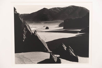 Brett Weston, 'Garrapata Beach, California', 1954
