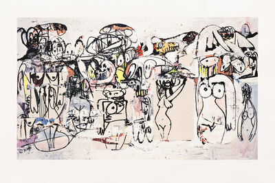 George Condo, 'Invocations of Miles ', 2000