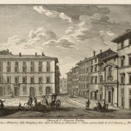 Giuseppe Vasi, 'Chiesa di S. Simeone Profeta', 1747