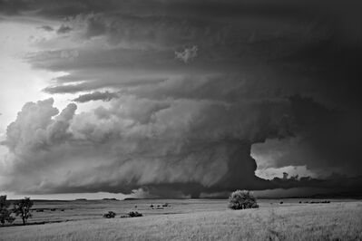 Mitch Dobrowner, 'Wedge over Plains', 2014