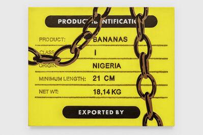 Jebila Okongwu, 'Product: Bananas (study)', 2019