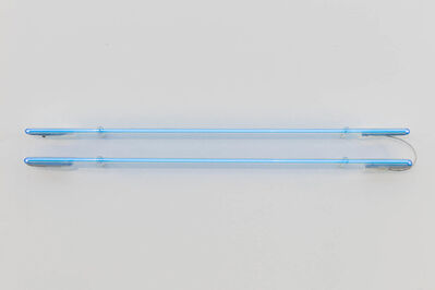 "Cerith Wyn  Evans, '""Equals..."" (protracted (in argon))', 2017"