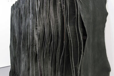 Simon Callery, 'Wallspine (Leaf) (Detail)', 2015