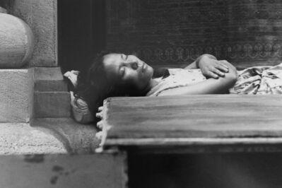 Louis Stettner, 'Asleep side street', 1995