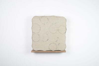 Analía Saban, 'Spring Cushion (with Coil Spring Rubbings)', 2014