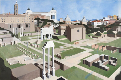 Robert Seidel, 'Forum Romanum', 2016