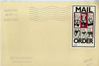 "Allen Jones, '""MAIL ORDER"" from CULTURE CARRIERS STAMP OUT ART"" (SIGNED), Provenance: The Collection of Art Critic Anthony Haden-Guest', 1971"