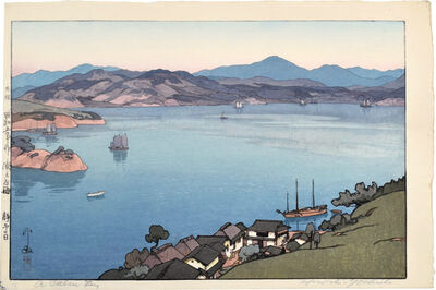 Yoshida Hiroshi, 'The Inland Sea, Second Series: A Calm Day', 1930