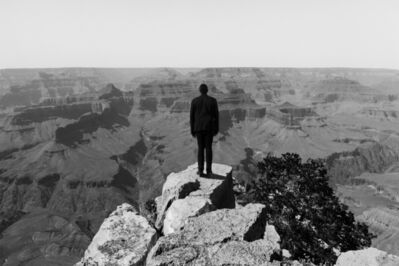 Johnnie Chatman, 'Self Portrait, Grand Canyon', 2018