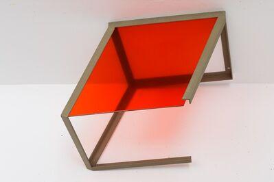 José Pedro Croft, 'Iron, glass with colored vinyl', 2016
