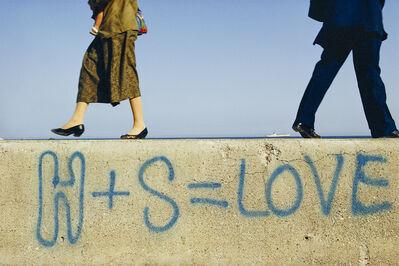 William Albert Allard, 'H + S = LOVE', ca. 1985