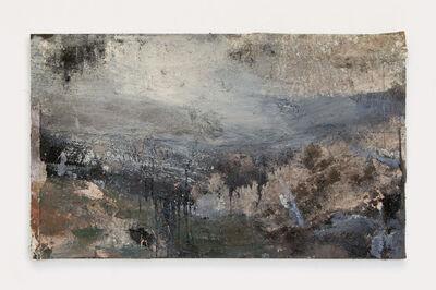 Andrew Hardwick, 'Hills, Mist, Rain, Distant A30'
