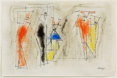Lyonel Feininger, 'Ghosties', 1950